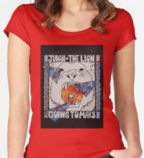 Going to Mars: Judah and the Lion Women's Fitted Scoop T-Shirt