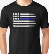Thin Blue Line - Bullet T-Shirt