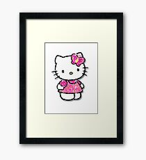 #Hello kitty Framed Print
