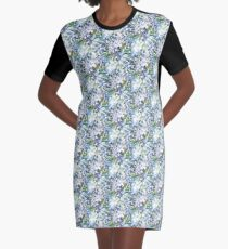 Agapanthus Graphic T-Shirt Dress