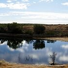 Cave hill water catchment pan by BigAndRed