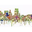 Boise, Idaho-Skyline - SG - verblaßter Ruhm von Marlene Watson