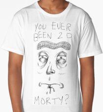 Rough Sketch Rick! Long T-Shirt