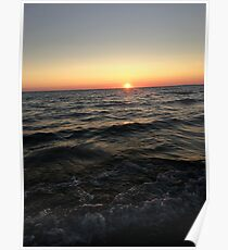 Lake Michigan  Poster