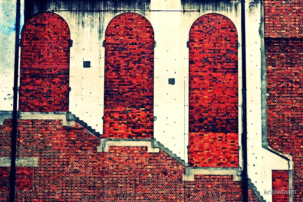 3 Richards on a Walkway by bribiedamo