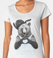 from Russia with love Women's Premium T-Shirt