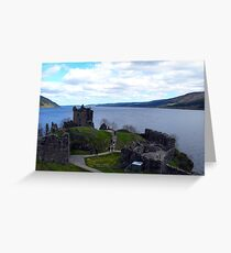 Loch Ness from Urquhart Castle Greeting Card