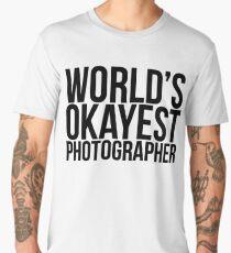 World's Okayest Photographer Men's Premium T-Shirt
