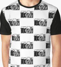 Camera Vintage SLR Graphic T-Shirt