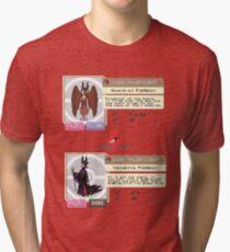 Maleficent Dex Info Tri-blend T-Shirt