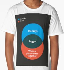 I don't like Reggae, I love it Long T-Shirt