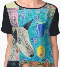 Frida and fruit 3 Women's Chiffon Top