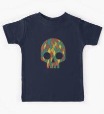 Skull and Bones Halloween Art Retro Pattern Kids Clothes