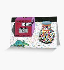 Holga box Greeting Card