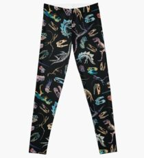Dinosaurs (Dark) Leggings