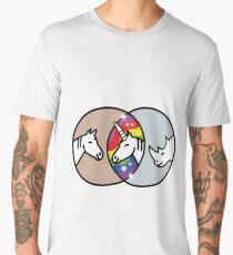 Horse + Rhino = Unicorn Men's Premium T-Shirt