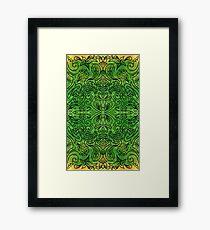 indian tribal ornament Framed Print