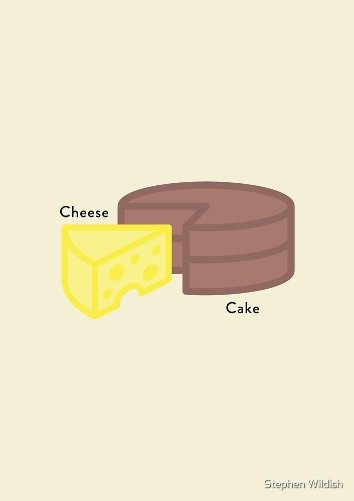 Cheese, Cake... Cheesecake by Stephen Wildish