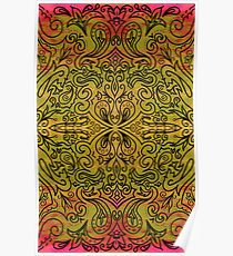 indian tribal ornament Poster