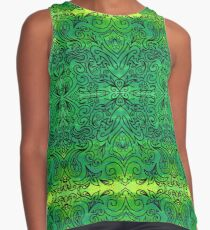 indian tribal ornament Contrast Tank