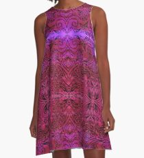 indian tribal ornament A-Line Dress
