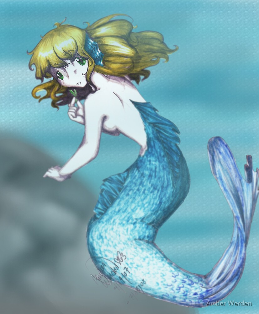 Mermaid [Background] by Amber Werden