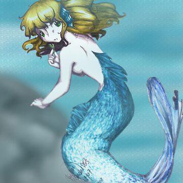 Mermaid [Background] by LiliumOfChaos