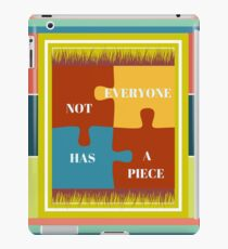 My Piece of a PUZZLE iPad Case/Skin