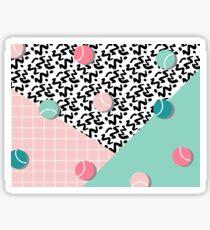 Tennis Pattern #redbubble #decor #buyart Sticker