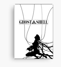 Ghost In The Shell (w/ Frame) Canvas Print