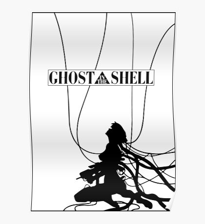 Ghost In The Shell (w/ Frame) Poster