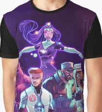 Rick and Morty Vindicators Graphic T-Shirt