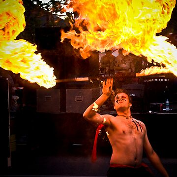 Fire Burnoff by razedinflames