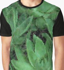 Echeverias in Dots Graphic T-Shirt