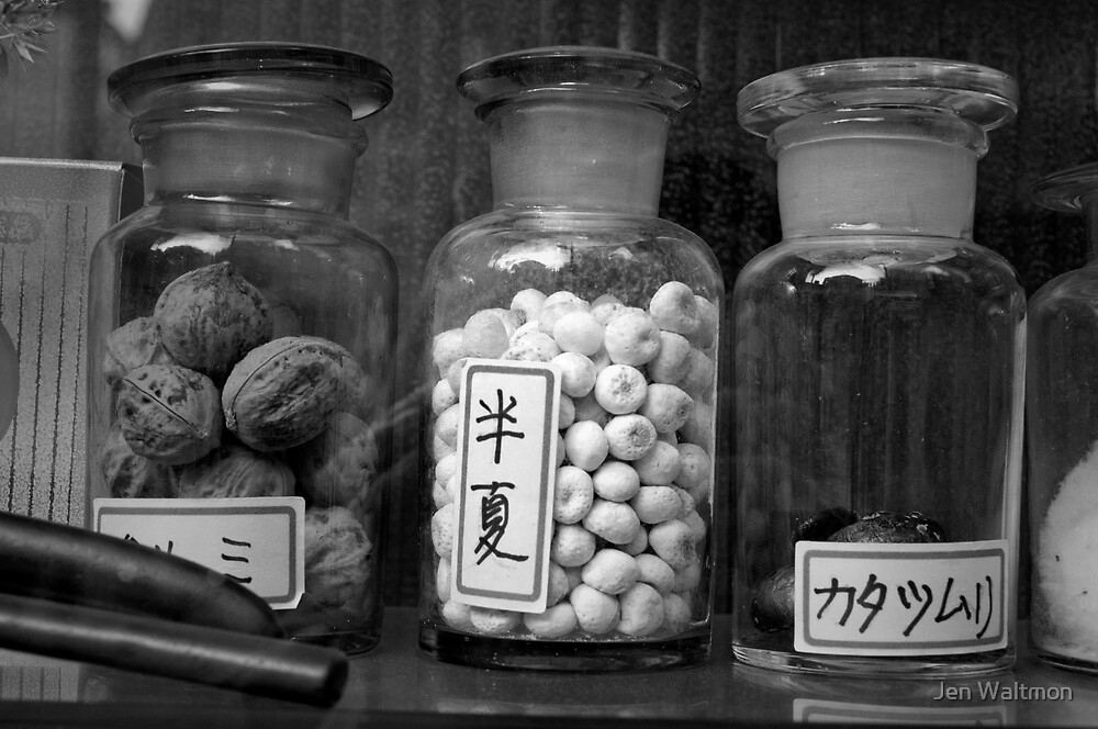 Autumn in Japan:  Ancient Elixirs by Jen Waltmon