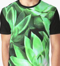 Bright Light Echeverias Graphic T-Shirt