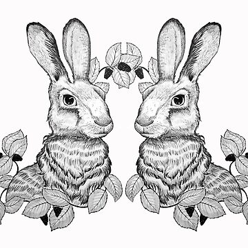The Blackberry Hares by HelenaBabic