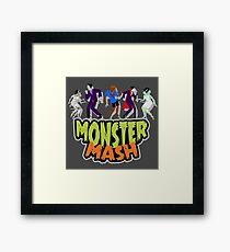 The Monster Mash Framed Print