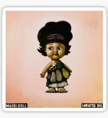 MAORI DOLL by Josh Lancaster Sticker