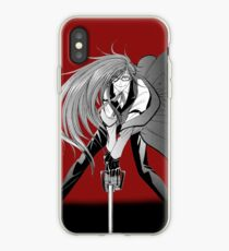 Manga Grell Sutcliff on Red iPhone Case
