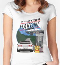 Hakone NISSAN Skyline R32 GTR Women's Fitted Scoop T-Shirt