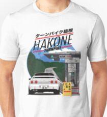 Camiseta ajustada Hakone NISSAN Skyline R32 GTR