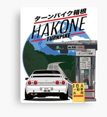 Hakone NISSAN Skyline R32 GTR Canvas Print