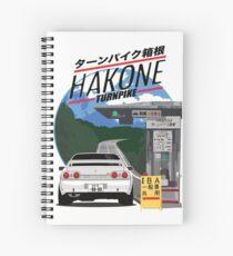 Hakone NISSAN Skyline R32 GTR Spiral Notebook
