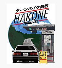 Hakone Toyota AE86 Trueno Photographic Print