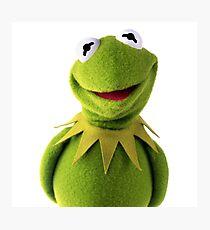 Kermit The Frog Le MEME Photographic Print