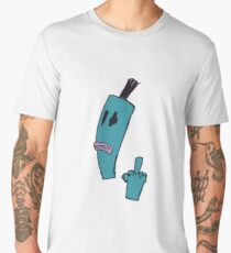 blue robot Men's Premium T-Shirt