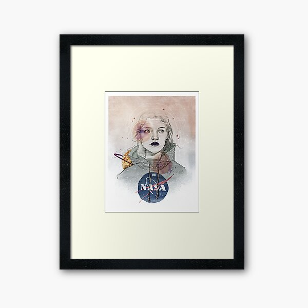 I NEED MORE SPACE Framed Art Print