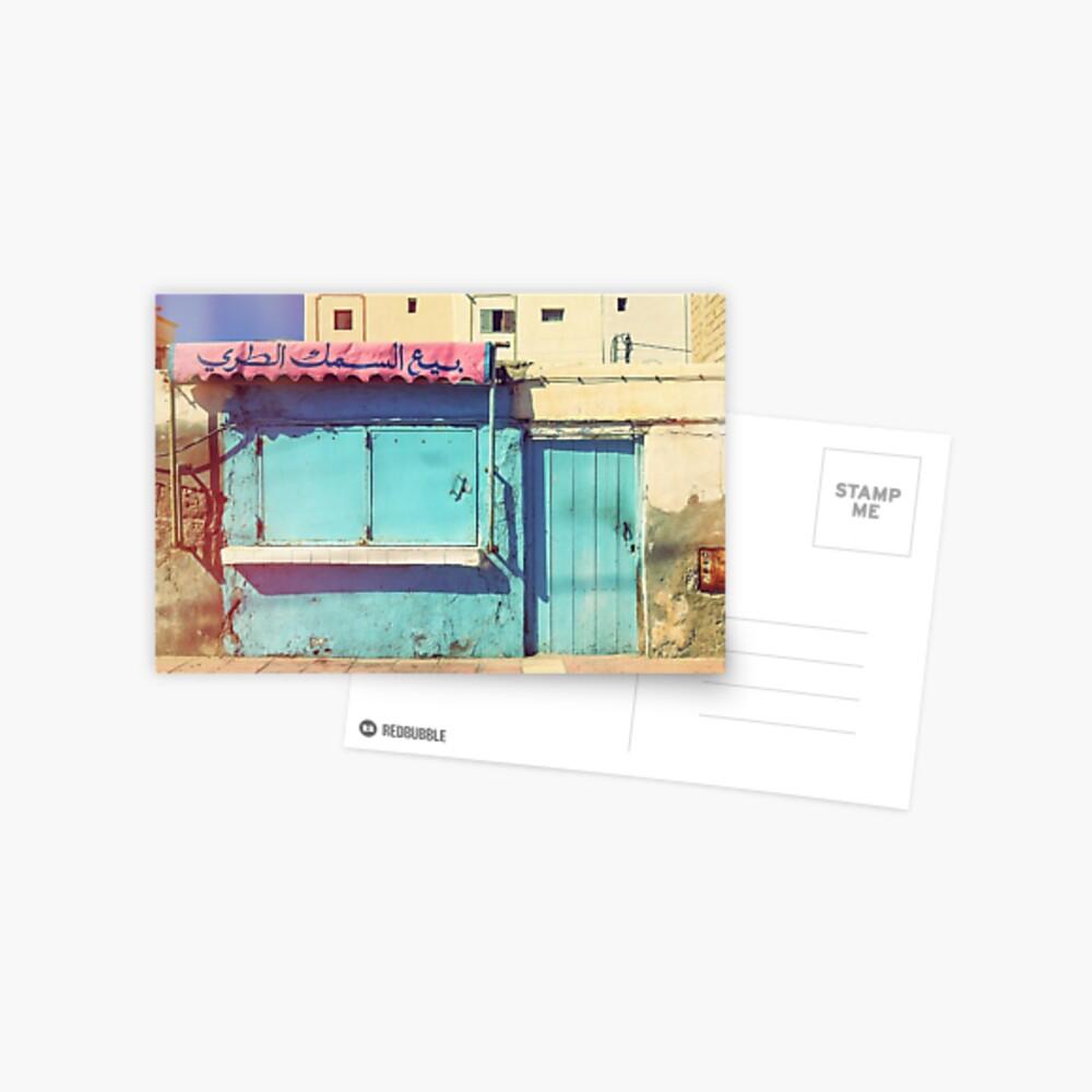 Sunday in Morocco Postcard