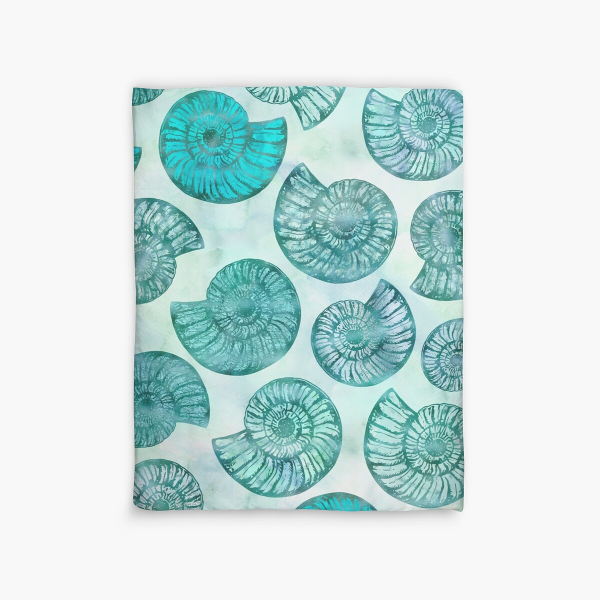 Quot Shimmering Underwater Shell Scenery In Turquoise Aqua